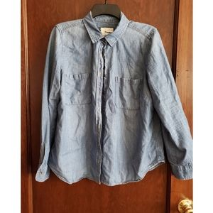 Sonoma Long Sleeve Button Up